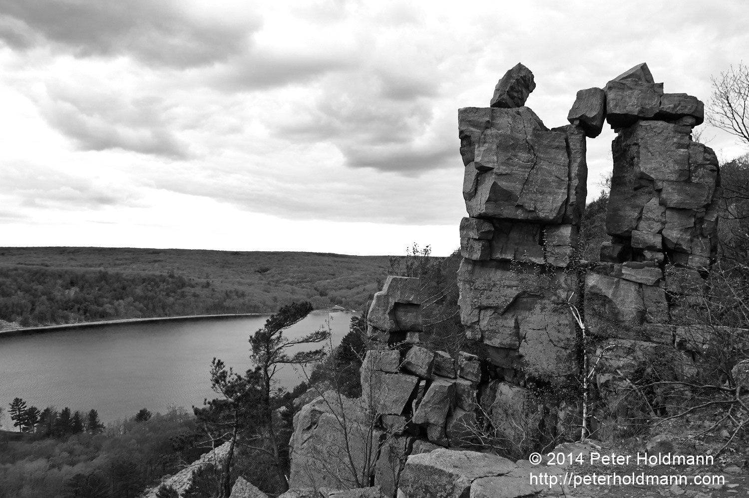 Devil's Door at Devil's Lake